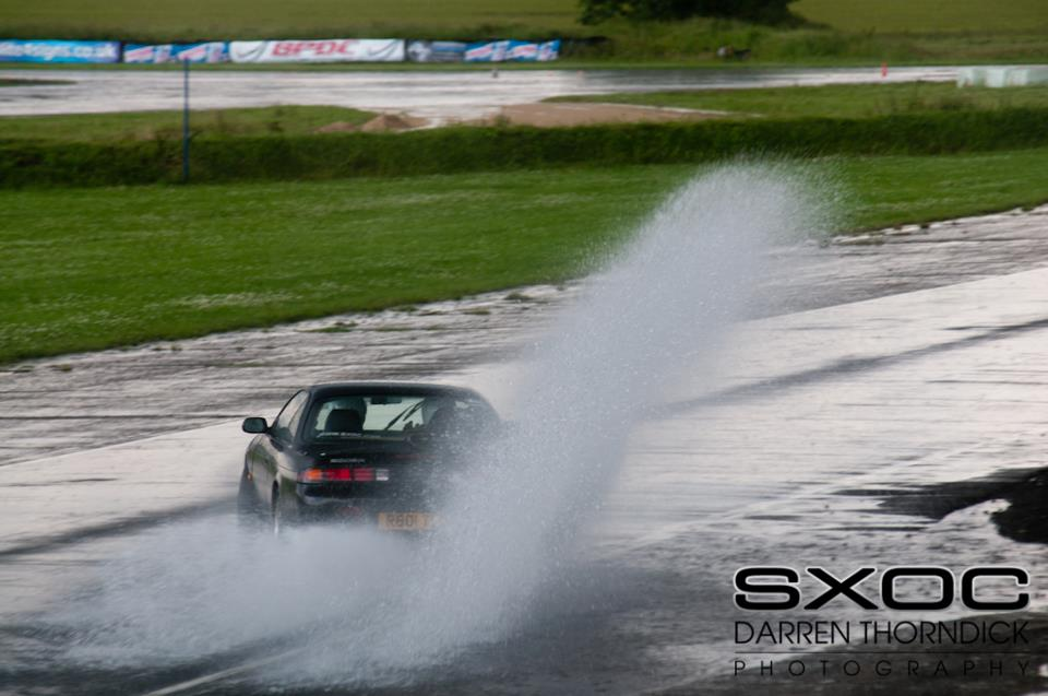 Armbands were optional in the second drift session